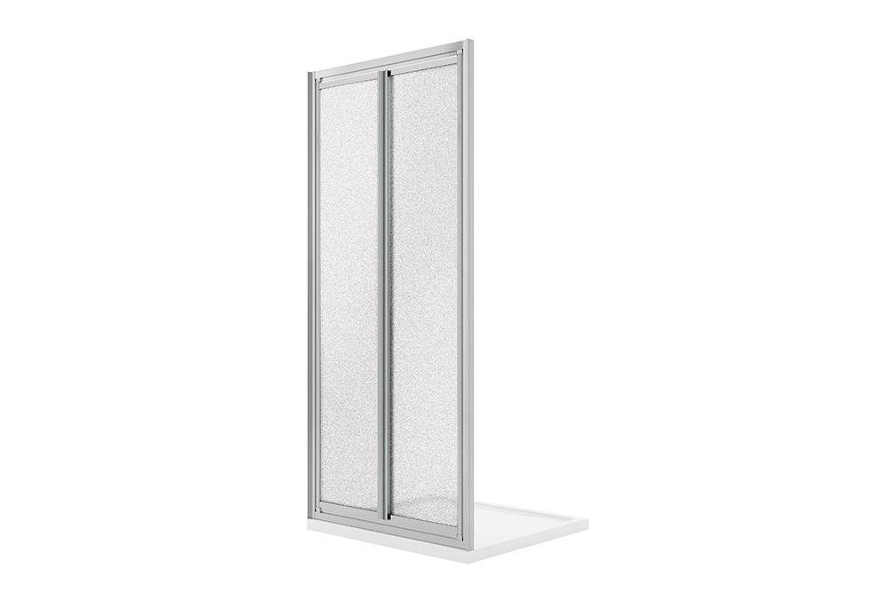 Duschtür Clint – H185 Glas 4mm – Idralite