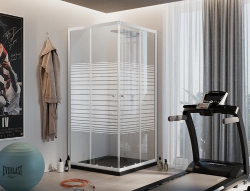 Blanc Rettangolare – H185 vetro 4mm