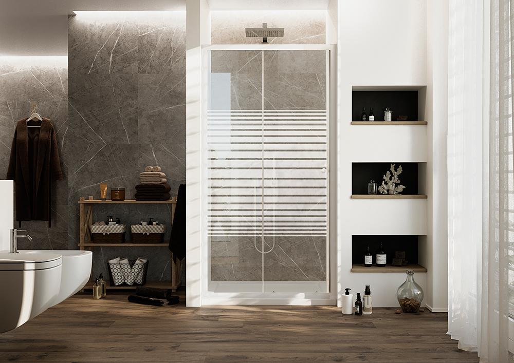 Porta Blanc – H185 vetro 4mm